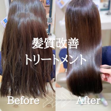 強いクセ毛さんのプレミアム髪質改善